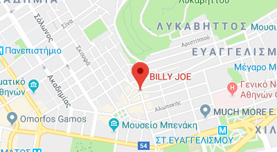 Χάρτης Billy Joe