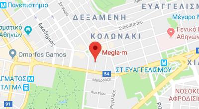 Χάρτης Megla-m